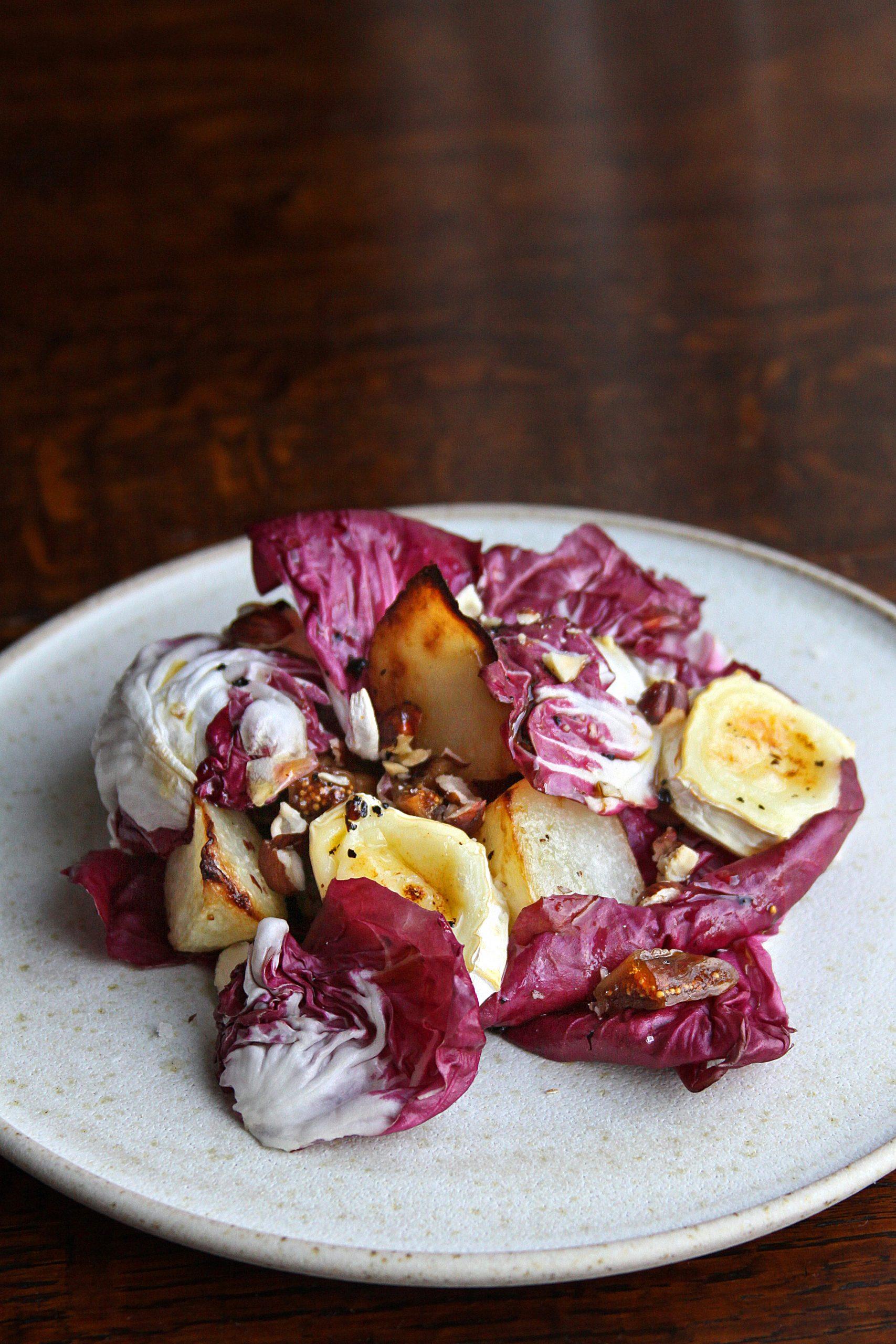 radicchio kohlrabi salad